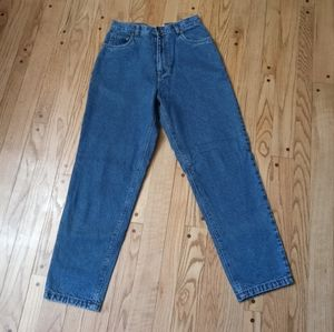 BURRY LANE FLANNEL LINED JEANS 10 R HIGH RISE